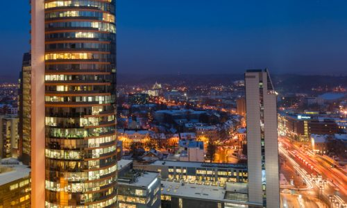 abigj, abigj photography, aj, arturas jendovickis, business, fine art, fine art photography, landscape, lithuania, photography, vilnius, konstitucijos prospektas, verslo trikampis, dangoraiziai, melynoji valanda, blue hour, business vilnius
